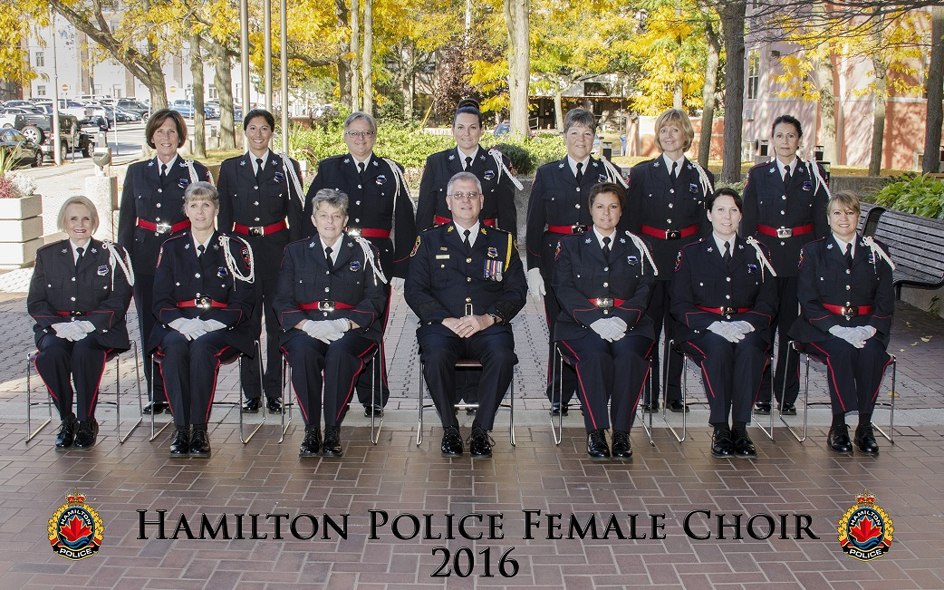 Hamilton Police Female Choir