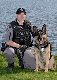 Officer Wilson and PSD Jake