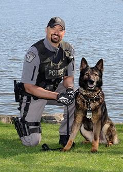 Officer Kikas and PSD Armour