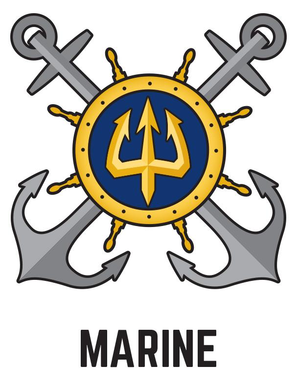 Marine Unit Logo