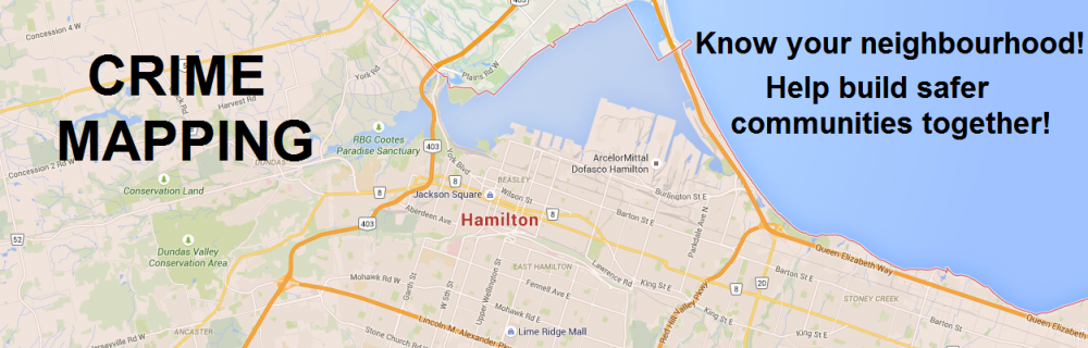 Find A Crime In My Neighbourhood | Hamilton Police Service Hamilton Place Mall Map on